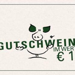 Gutschwein 10 Euro