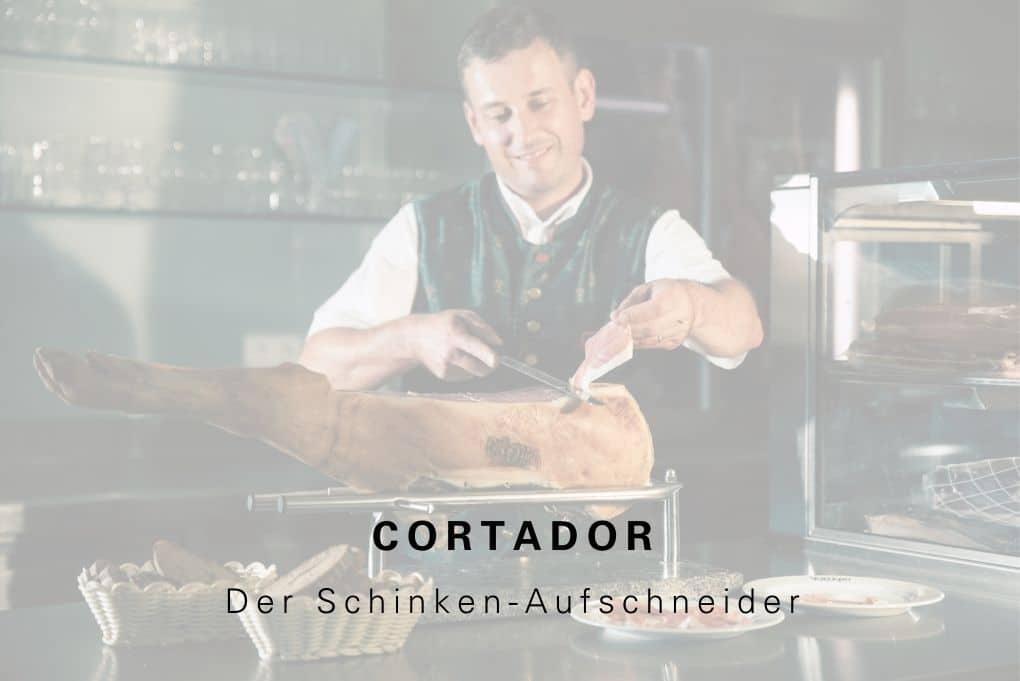 Cortador der Schinken Aufschneider (2)
