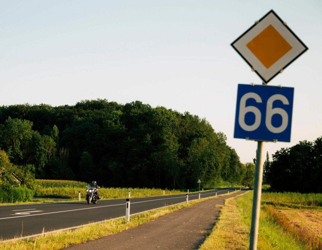 Route 66 - Staße der Lebenslust